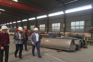 RUSSIA CUSTOMER VISIT JINGU SEEK COOPERATION ON BULK MATERIAL HANDLING