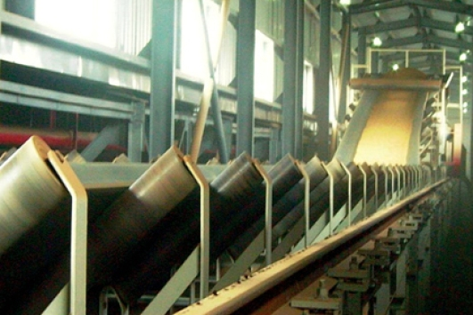 Ilder belt conveyor