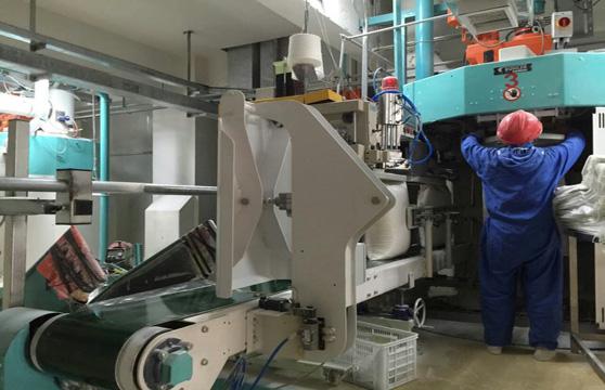 Jingu automatic flour packing machine up to 850 bag per hour